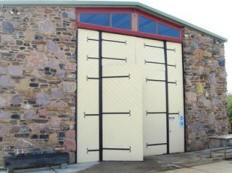 Talerwin Forge workshop doors